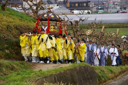 大和神社 ちゃんちゃん祭り