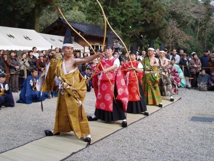 大和神社 御弓はじめ祭