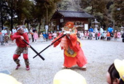 大和神社「節分祭」