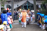 1月8日 丹波市八日恵美須祭