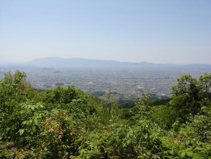 南城跡(龍王山山頂)